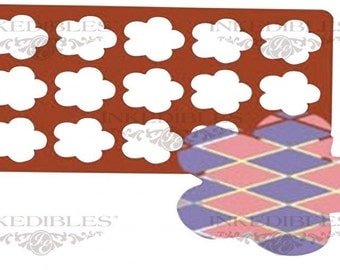 Silicone Chocolate Mold - Flower Chocolate Thins