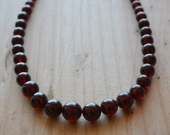 High quility Garnet Necklace