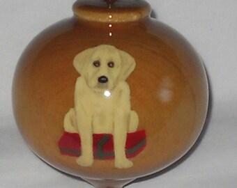 Wooden Christmas Ornament, Labrador Retriever, WBO-65