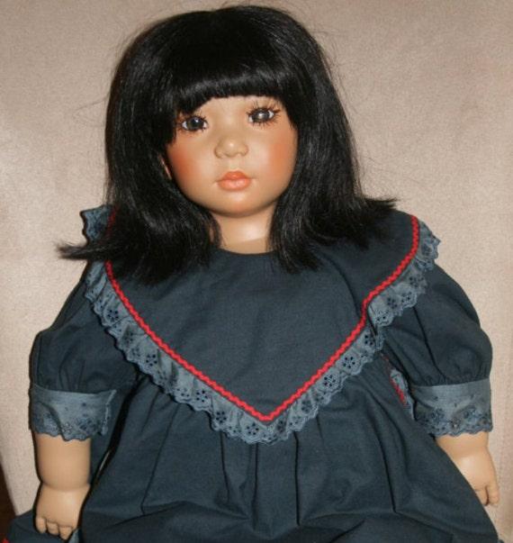 Sale Annette Himstedt Shireem Doll, Doll, Christmas, Handmade German Doll, SALE