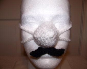 Mustache Nose Warmer