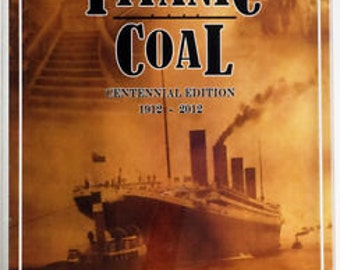"RMS Titanic Coal 8x10 ""LEAVING BELFAST"" 100th Anniversary W/ coa Authentic Memorabilia"