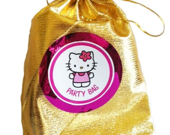 Hello Kitty party/loot bag with 8 items inside, great value