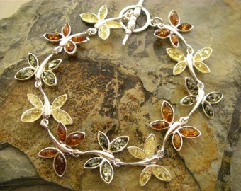 Butterfly Amber bracelet