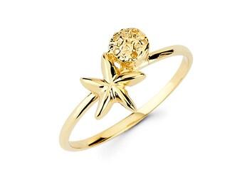 Sealife, Starfish, Sand dollar, Starfish jewelry, Sand dollar jewelry, Gold Starfish, gold Sand dollar, dainty jewlery, starfish ring