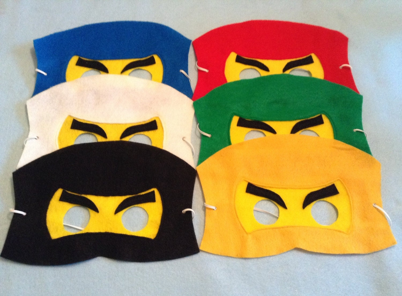 Printable Ninjago Mask images