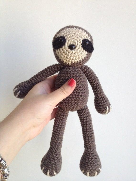 Sloth Amigurumi Pattern From Marigurumishop On Etsy Studio