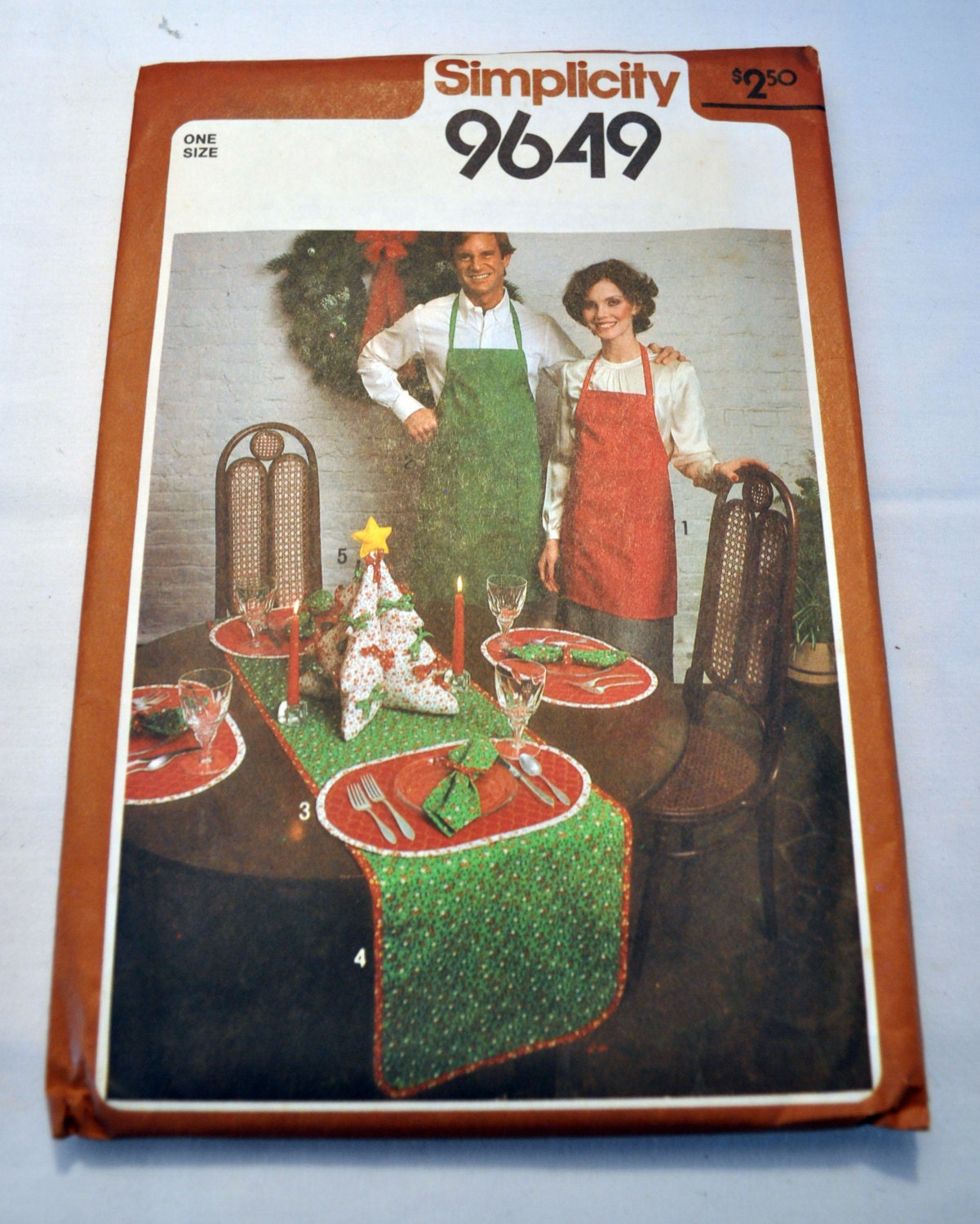 Simplicity 9649 Christmas Home Decor Sewing Pattern