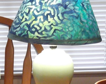 How to Cover a Lampshade - instant download - pdf