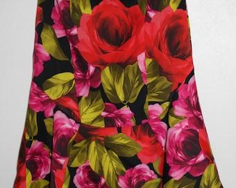 bordello roses skirt size 12