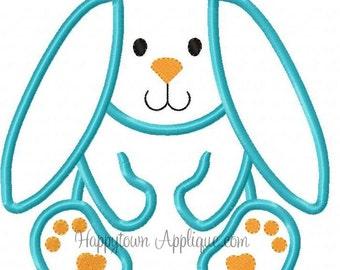 Floppy Bunny Machine Embroidery Design