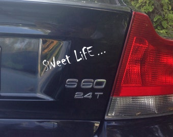 Sweet Life Vinyl Decal Sticker salt life swamp life goof FREE SHIPPING