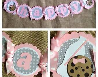 Milk and Cookies Birthday Banner, Milk and Cookies Party Banner, Milk and Cookies theme, Milk and Cookies Party Decorations