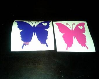5inch Butterfly Vinyl Decals