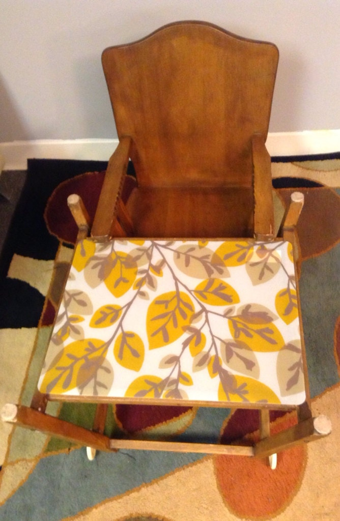 1950 S Thayer Tops For Tots High Chair Convertible Desk