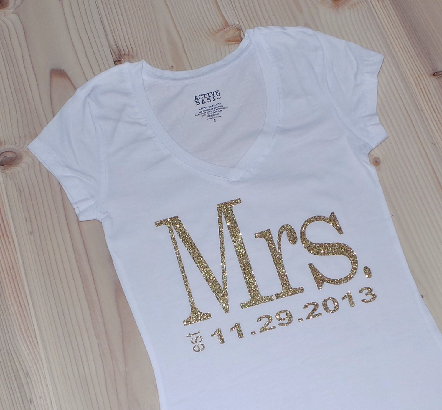 Request a custom order and have something made just for you for Novelty bride wedding dress t shirt