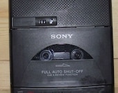 Retro Sony Desk Top Cassette Corder