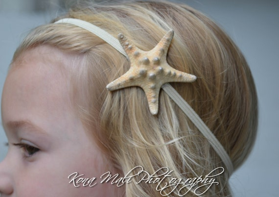 Starfish Headband Natural Knobby Starfish Mermaid Headband Accessories