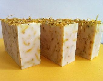 Creamy Gentle Calendula Soap