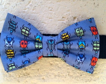 Dog Bow Tie- Bugs