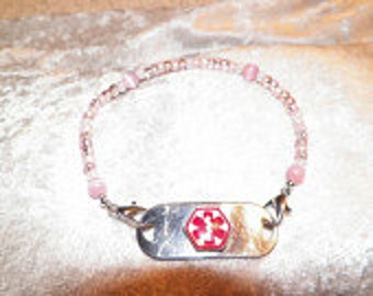Medical Alert Tag & Interchangeable Band