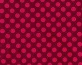 Michael Miller Studios - Ta Dot - Fushia - 1 yard -Cotton Fabric