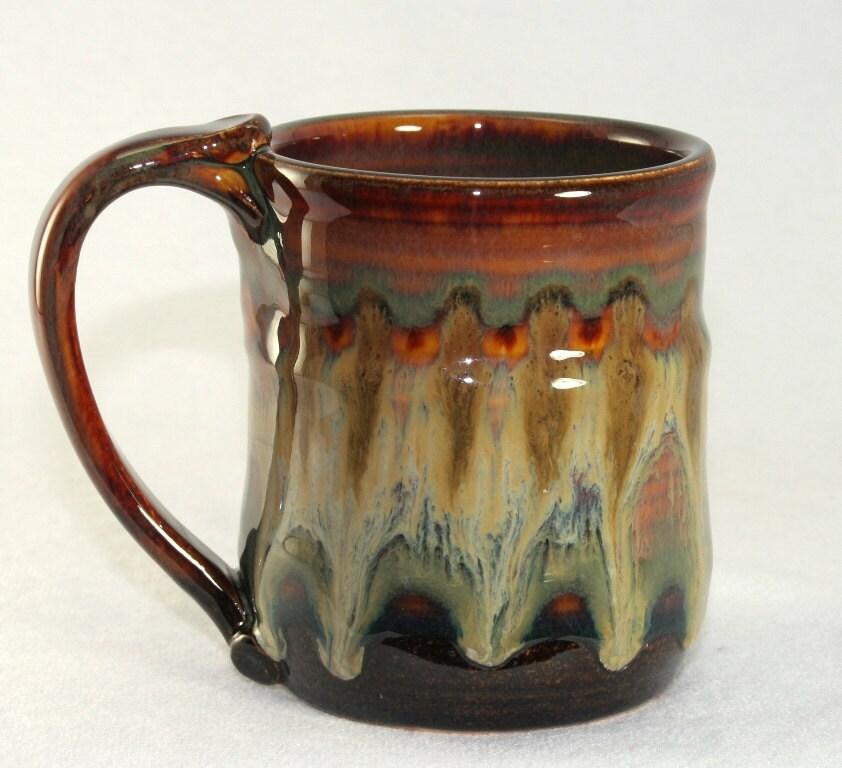 vintage Japan stoneware dishes, ceramic coffee mug cups ...  |Black Stoneware Pottery Mug