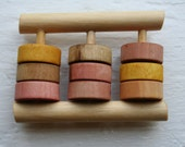 Wooden Abacus Rattle - Mo...