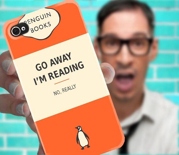 Penguin Book Cover Iphone Case : Moved permanently