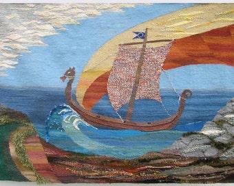 Original Handwoven Vermiro Tapestry