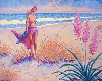 "Gary George ""Ocean Breeze"" - S/N Serigraph - Retail 550.00 - COA - See Live at GallArt - Buy/Sell/Trade"