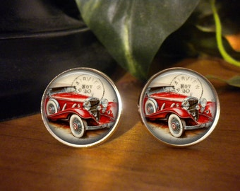 Antique Car Cufflinks