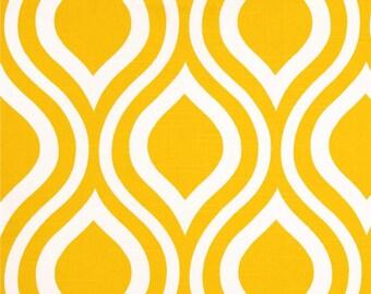 SALE - Premier Prints Emily Corn Yellow Slub Fabric, Geometric Fabric - 1 YARD