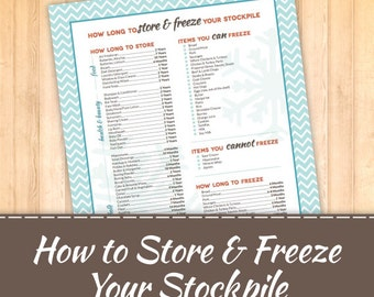 Store and Freeze your Stockpile Inventory