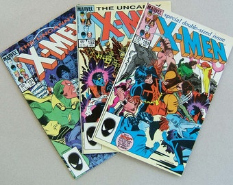 The Uncanny X-Men issues 191 to 193