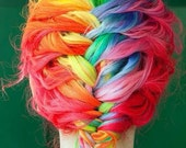 Rainbow Brights Mix - Hair Chalk  - 6 Large Sticks