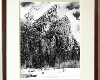 Three Brothers, Yosemite. Fine Art Photograph. Free Shipping in US. Available Framed or Unframed.