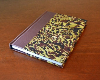 Shower Game Prize - Animal Print Camoflauge - Blank Travel Journal