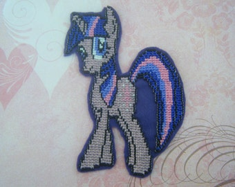 Beaded My Little Pony Patch - Twilight Sparkle