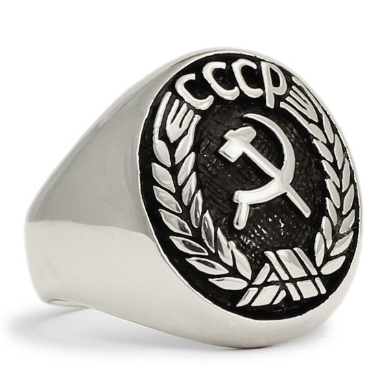 Hammer And Sickle Ring
