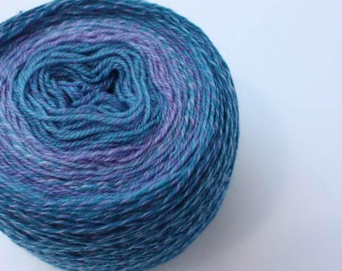 Elements Collection - Col 04 Ulysses Butterfly Blue 4 ply supersoft 100% Merino