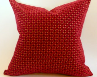 Schumacher Cut Velvet Pillow Cover