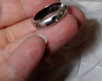 Pewter Protection ring, Size 7.25