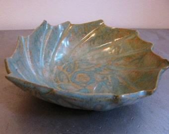 Fluted Spiral Bowl