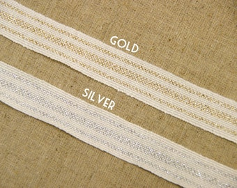 20m (22 yards) x 17mm(0.67 inches) roll of Linen Ribbon-Sewing Tape-Embellishment-Scrapbooking(173)