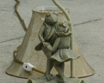 Popular Items For Frog Lamp On Etsy