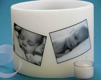 Baby Keepsake Blended Beeswax Lanterns