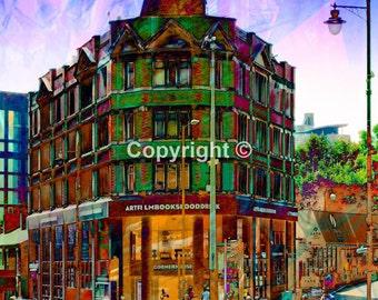 Cornerhouse  Manchester Print - Run of 100