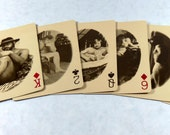 Vintage Mature Male Nude Playing Cards