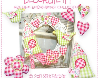 Decorate it - ITH Machine Embroidery Files